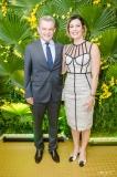José Sarto e Natália Herculano