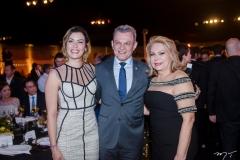 Natália Herculano, José Sarto e Iracema do Vale