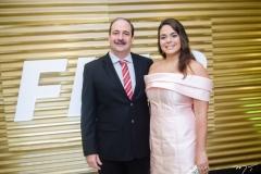 Paulo André e Marina Holanda