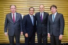 Ricardo Cavalcante, Beto Studart, Inácio Arruda e Edgar Gadelha