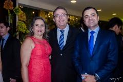 Regina Cláudia, Joaquim Rolim e Sandoval Feitosa