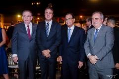 Ricardo, Camilo Santana, Beto Studart e Francisco Cavalcante