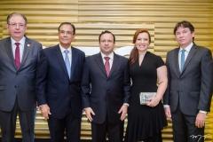 Ricardo Cavalcante, Beto Studart, Igor e Aline Barroso e Edgar Gadelha