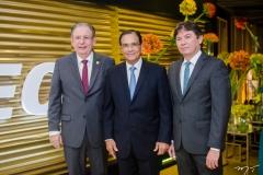 Ricardo Cavalcante, Beto Studart e Edgar Gadelha