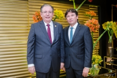 Ricardo Cavalcante e Edgar Gadelha