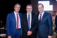 Tiago, Eudoro Santana e César Ribeiro