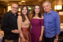 Emanoel Pontes, Cláudia Alexandre, Lúcia Praciano E Tadeu Costa