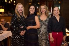 Sandra Fujita, Neuza Rocha, Helena Demes E Isabele Fonseca