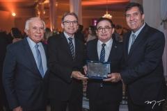 Adalmir Santana, Marcelo Queirós, Manoel Linhares e Luiz Gastão Bittencourt