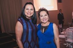 Ana Cláudia Martins e Regina Pinho