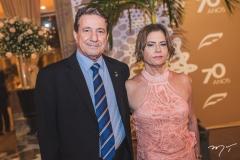 Clareou César e Jeritza Jucá