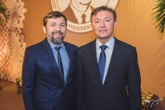 Élcio Batista e Mauricio Filizola