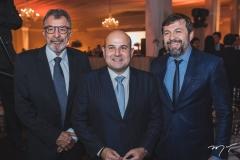 Eudoro Santana, Roberto Cláudio e Élcio Batista