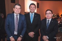 Fábio Zech, Helton Yomura e Manoel Linhares