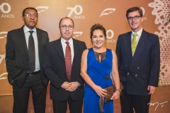 Gilson Santos, Mozart Dornelles, Regina Pinho e Reginiel Marciliano