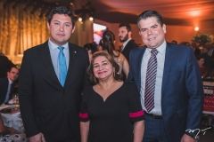 Helton Yomura, Maria Vital e Fábio Zech