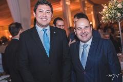 Helton Yomura e Roberto Cláudio