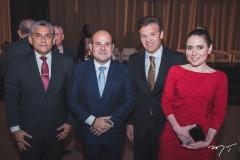 Jurandir Gurgel, Roberto Cláudio, Ferruccio Feitosa e Águeda Muniz
