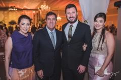 Kelly Mota, Luiz Gastão Bittencourt, Rodrigo e Raquel Leite