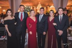 Luana Bittencourt, Marcelo Mizola, Eliana e Luiz Gastão, Mila e Luiz Bittencourt