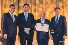 Luiz Gastão Bittencourt, Helton Yomura, Roberto Cláudio e Maurício Filizola
