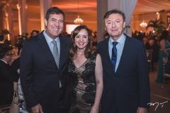 Luiz Gastão Bittencourt, Nicolle Barbosa e Maurício Filizola