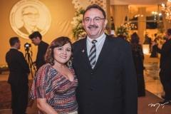 Luiziane Sousa e Afonso Júnior