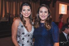 Márcia Travessoni e Patrícia Macedo