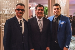 Maia Júnior, Luiz Gastão Bittencourt e Abrahão Maia