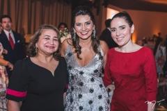 Maria Vital, Márcia Travessoni e Águeda Muniz