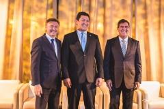 Maurício Filizola, Helton Yomura e Luiz Gastão Bittencourt