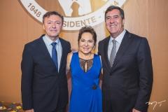 Maurício Filizola, Regina Pinho e Luiz Gastão Bittencourt