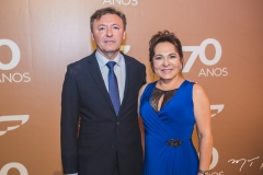 Maurício Filizola e Regina Pinho