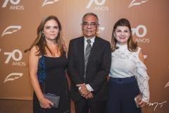 Normania Diniz, Duda e Cecília Alencar
