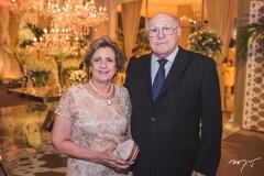 Regina Aragão e Luís Marques