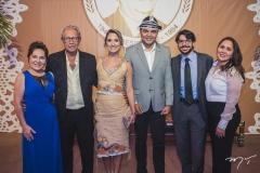 Regina Pinho, Espedito Seleiro, Elaine Lavour, Chambinho, Paulo e Suzana Wanderley