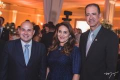 Roberto Cláudio, Patrícia Macedo e Regis Medeiros