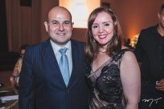 Roberto Cláudio e Nicolle Barbosa