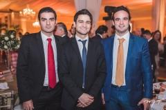 Rodrigo Nogueira, Pedro Matos e Lucas Asfor