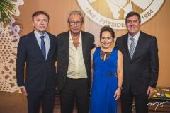 Maurício Filizola, Espedito Seleiro, Regina Pinho e Luiz Gastão Bittencourt