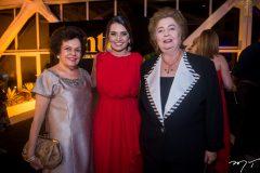 Constância Távora, Márcia Travessoni e Gabriela Castro