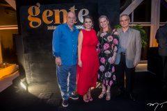 Fernando e Márcia Travessoni, Bia e Max Perlingeiro