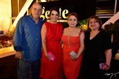 Fernando e Márcia Travessoni, Etel Rios e Maria Vital
