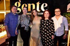 Fradique e Daniela Accioly, Maria Eugênia, Ítala Ventura e Mário Montenegro