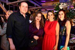 George e Martinha Assunção, Márcia Travessoni e Lorena Pouchain