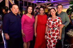 Gera e Márcia Teixeira, Márcia Travessoni, Elusa e Totonho Laprovitera