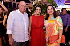 Luciano Cavalcante, Márcia Travessoni e Denise Cavalcante