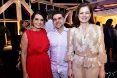 Márcia Travessoni, Isaac e Cheyla Furtado