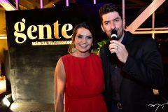 Márcia Travessoni e Paulo Benevides