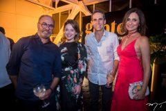 Marcus Novais, Anik Mourão, Airton Façanha e Ana Cristina Mendes